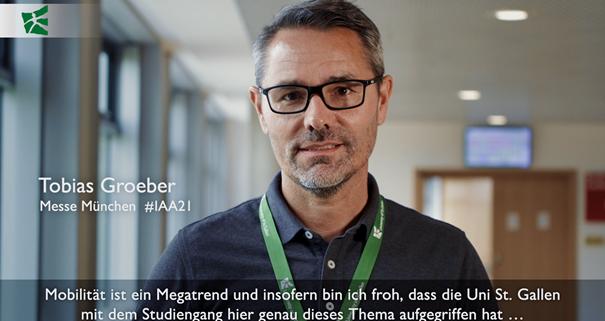Ludwig Haas zum Start «CAS Smart Mobility Management»