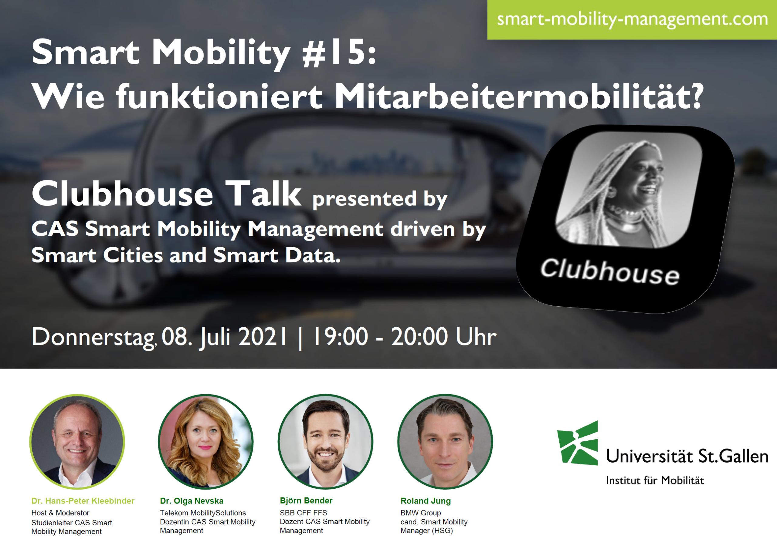Smart Mobility #15: Wie funktioniert Mitarbeitermobilität?